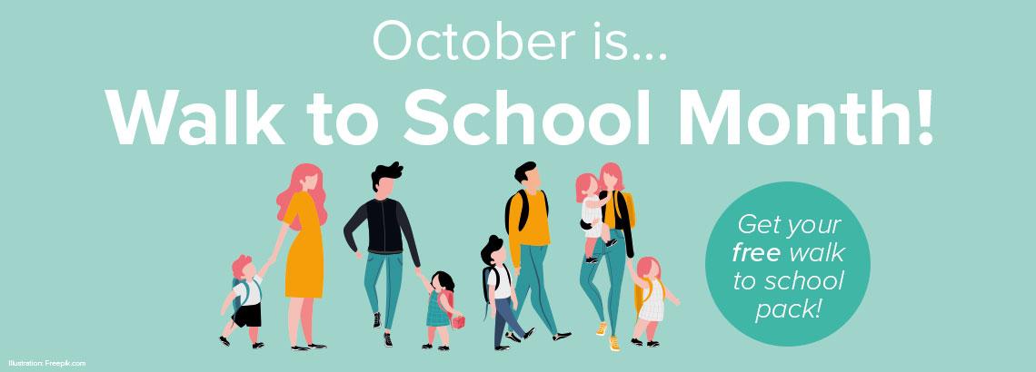 Walk to School Month 2019 | Boyton Place